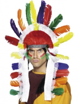 Long Indian Chief Headdress