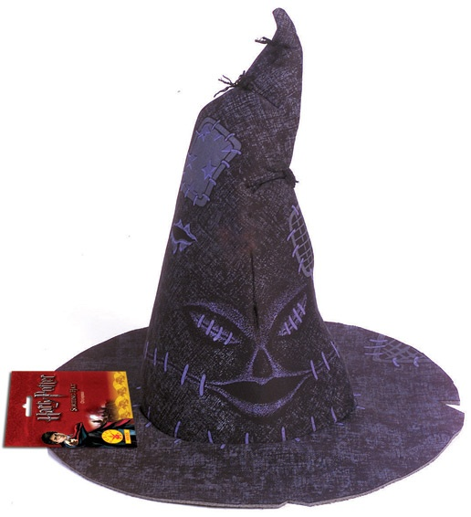 sorting hat harry potter. Harry Potter Sorting Hat