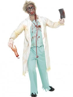 Costume of Zombie Doctor